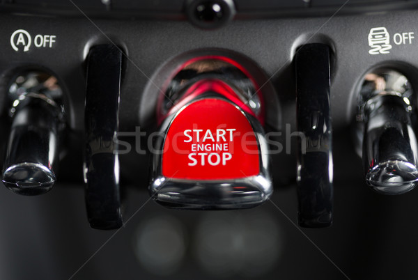 Ignition system Stock photo © fotoedu