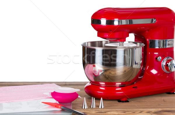 машина торты украшение инструменты Сток-фото © fotoedu