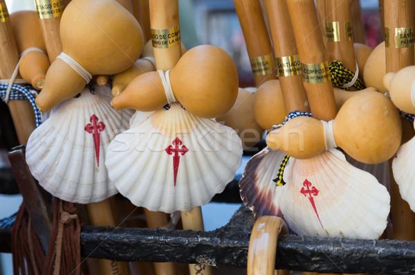 Conchas típico manera Santiago España Shell Foto stock © fotoedu