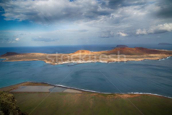 View of the part of Graciosa Island Stock photo © fotoedu