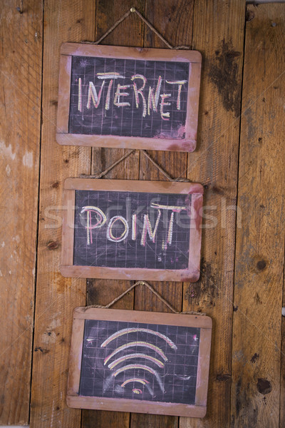 Office Internet point Stock photo © Fotografiche