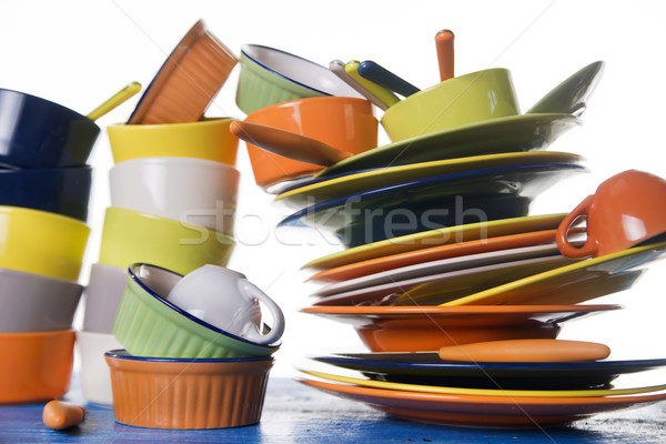 The colors in the kitchen  Stock photo © Fotografiche