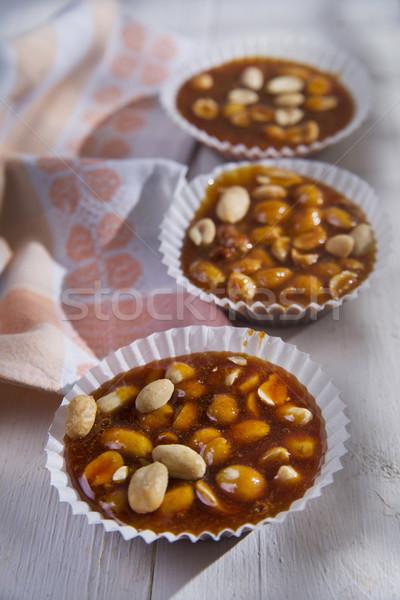 Crispy sugar and dried fruit  Stock photo © Fotografiche