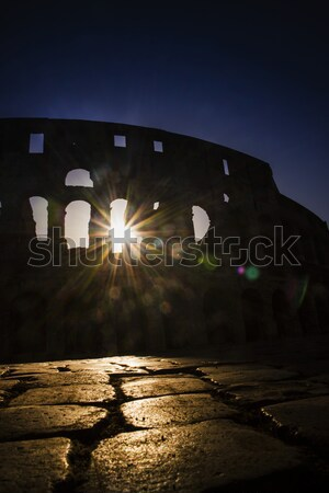 Colosseum to the dawn Stock photo © Fotografiche