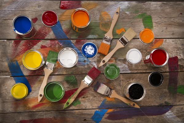 Stok fotoğraf: Renk · ayarlamak · yeni · eski · renkler
