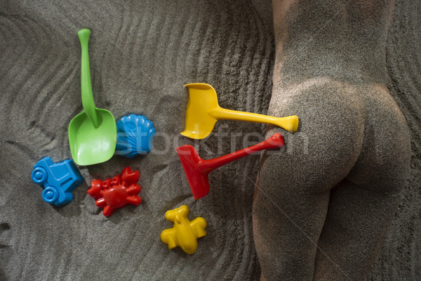 Stock photo: Summer Games on the beach