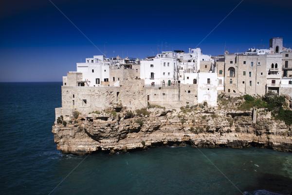 Kısrak İtalya yaz görmek kasaba doğa Stok fotoğraf © Fotografiche