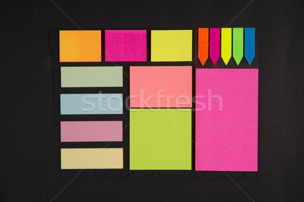 Portapapeles pequeño papel escribir notas Foto stock © Fotografiche