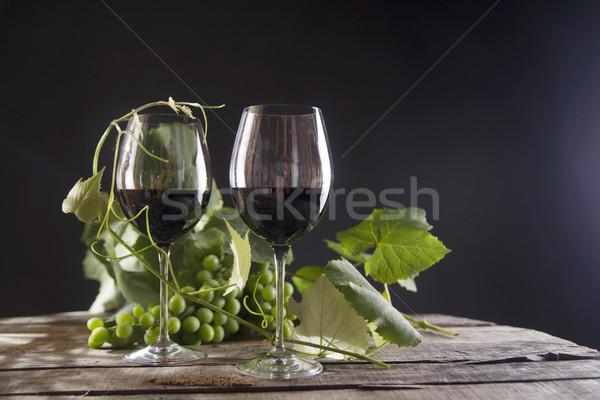 стекла бутылку кислый виноград Сток-фото © Fotografiche