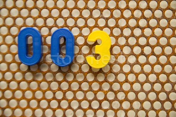 письма номера белый фон почты экране Сток-фото © Fotografiche