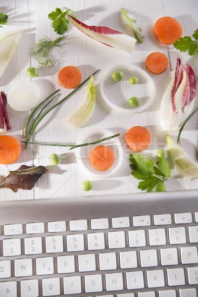 Buy vegetables online Stock photo © Fotografiche