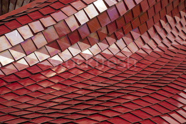 Coverage of red tiles Stock photo © Fotografiche