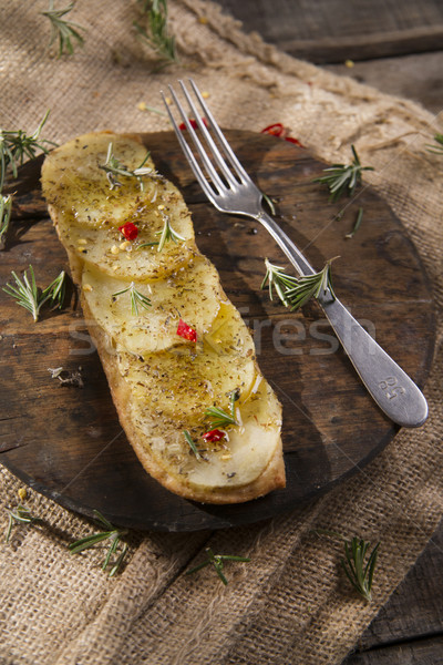 ケーキ 小麦 小麦粉 ローズマリー 食品 ストックフォト © Fotografiche