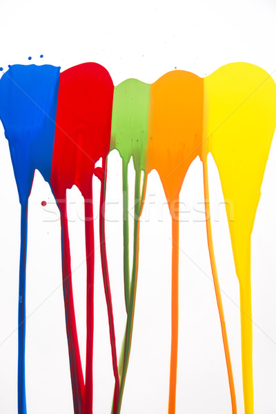 Stock photo: Strokes of color
