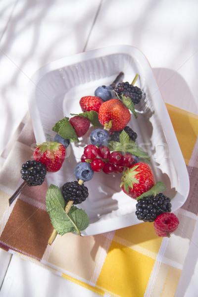 Varieties of berries Stock photo © Fotografiche