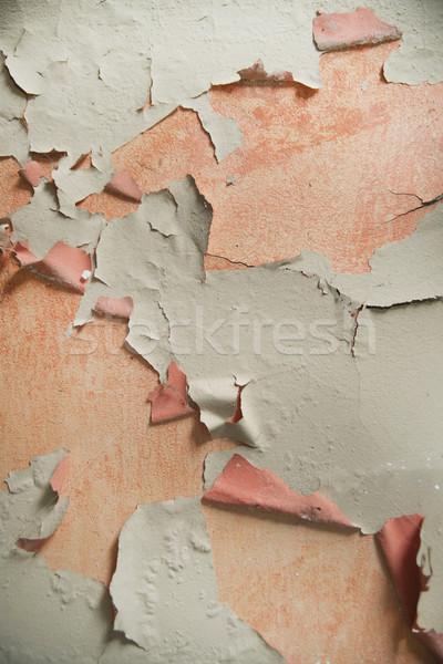 Effect vochtigheid oude muur woon- Stockfoto © Fotografiche