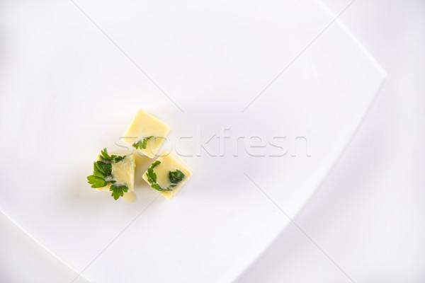 油 キューブ 凍結 パセリ キューブ 余分な ストックフォト © Fotografiche