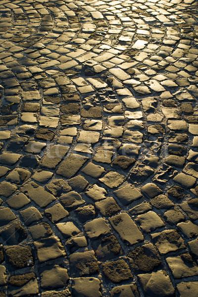 Urban paving cobblestones Stock photo © Fotografiche