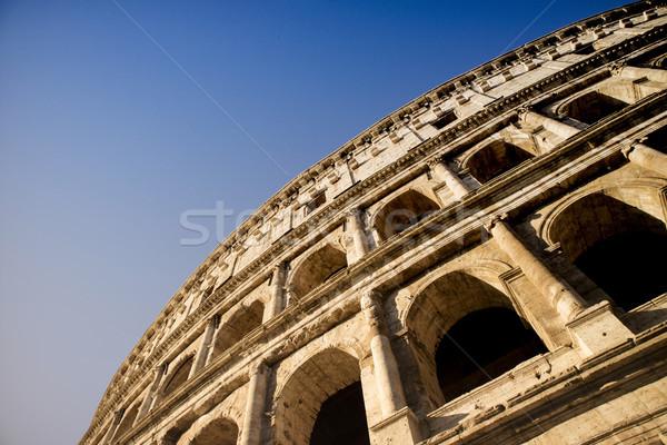 Constructive details of the Colosseum Stock photo © Fotografiche