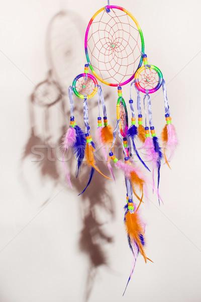 Avcı düşler kabile simge eski yerli Stok fotoğraf © Fotografiche