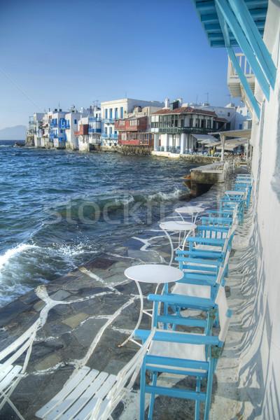 Grec île vue spéciale architecture Europe Photo stock © Fotografiche