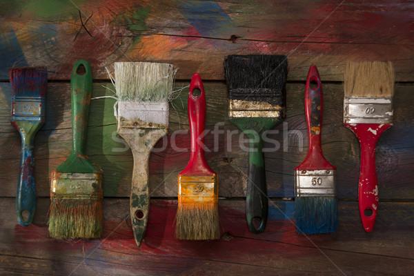 色 セット 新しい 古い 色 ストックフォト © Fotografiche