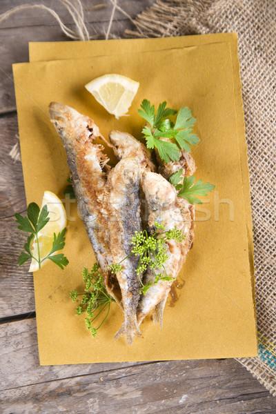 Fried anchovies  Stock photo © Fotografiche