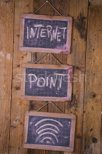 Office Internet point Stock photo © Fotografiche