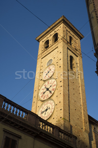 Tolentino, the Tower of Watches Stock photo © Fotografiche