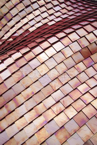 Coverage of red tiles Stock photo © Fotografiche