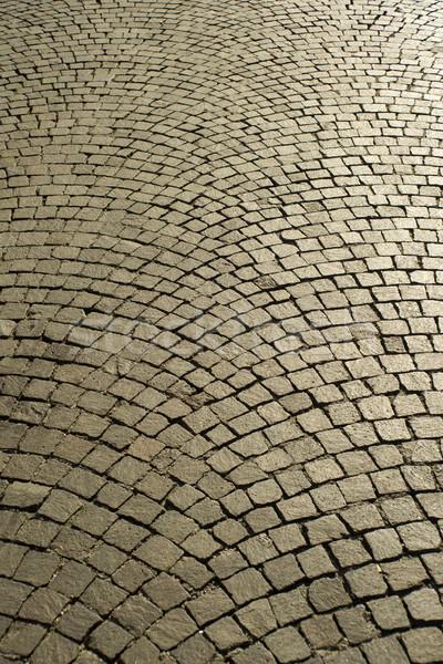 Kentsel kare eski sokak dizayn arka plan Stok fotoğraf © Fotografiche