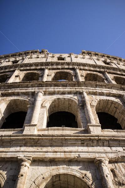 детали Колизей мнение архитектурный Европа древних Сток-фото © Fotografiche