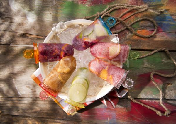 Icicle citrus Stock photo © Fotografiche