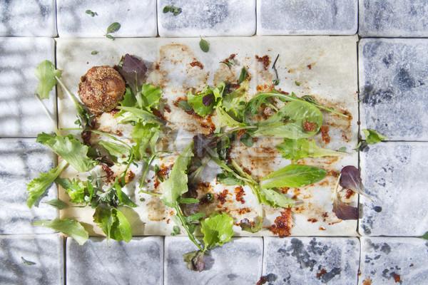 Repas quoi plat légumes Photo stock © Fotografiche