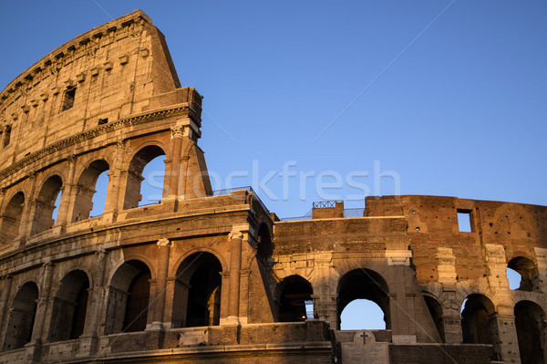 Colosseum Rome Italy Stock photo © Fotografiche