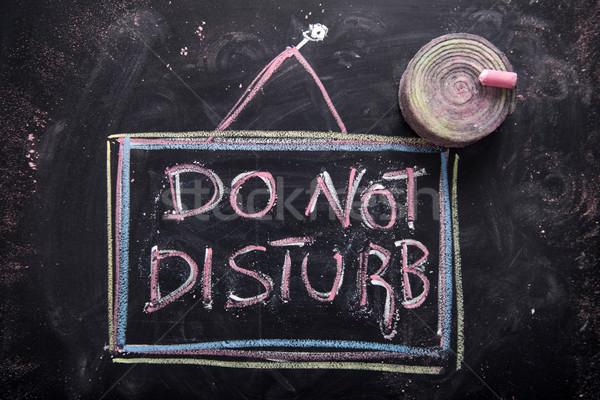 Do not disturb Stock photo © Fotografiche