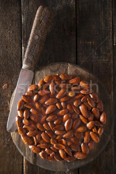 Tipik geleneksel tatlı Stok fotoğraf © Fotografiche