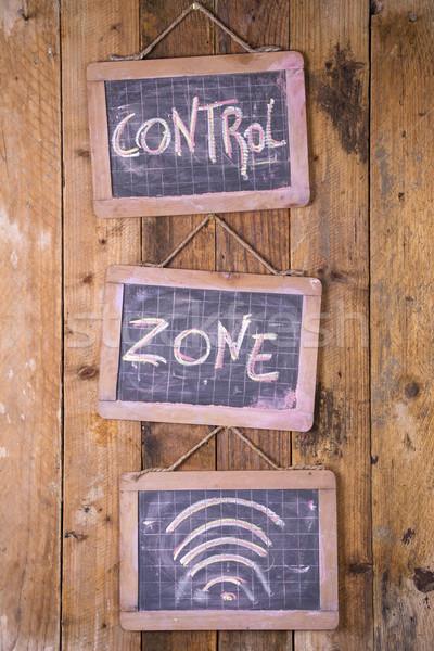 Area under control Stock photo © Fotografiche