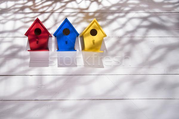 Homes for birds Stock photo © Fotografiche