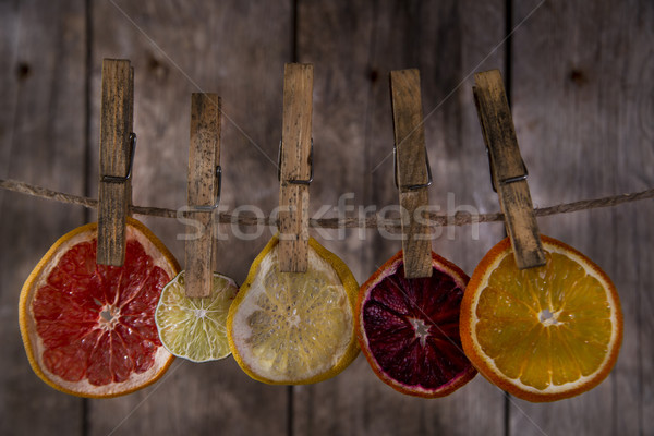 The colors of the dried citrus fruit Stock photo © Fotografiche