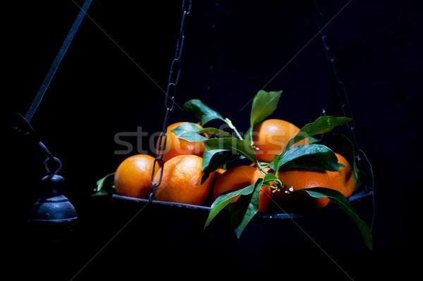 Oranges échelles échelle typique sicile région Photo stock © Fotografiche
