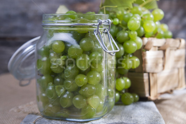 üzüm son zaman üzüm hasat Stok fotoğraf © Fotografiche