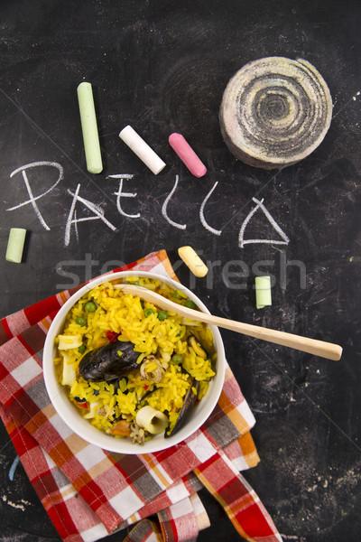 Paella Stock photo © Fotografiche