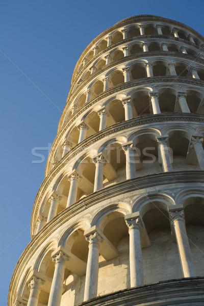 Détails tour architectural Toscane Italie Photo stock © Fotografiche