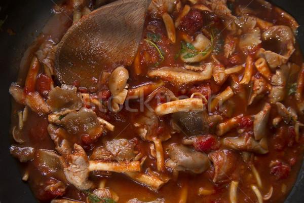Mushroom soup Stock photo © Fotografiche