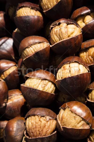 Autumn roast chestnuts Stock photo © Fotografiche