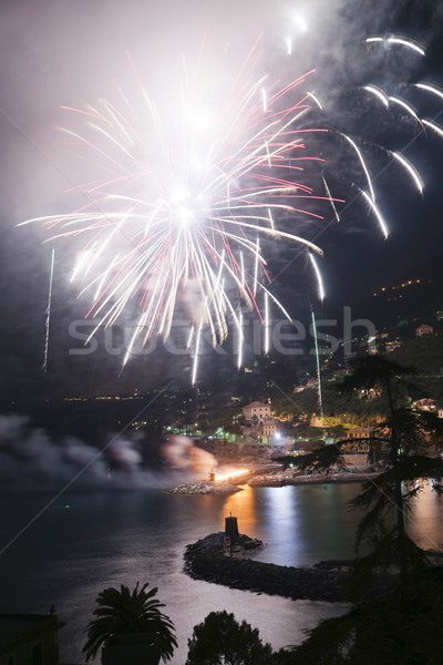 Fireworks Recco Italy  Stock photo © Fotografiche