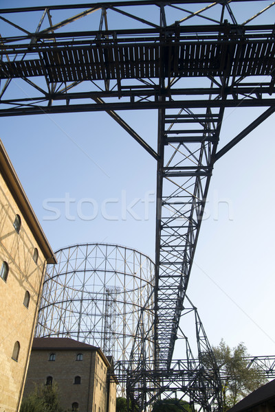Roma eski demir yapı İtalya kullanılmış Stok fotoğraf © Fotografiche