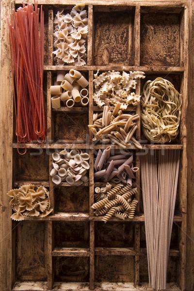 Whole wheat pasta Stock photo © Fotografiche