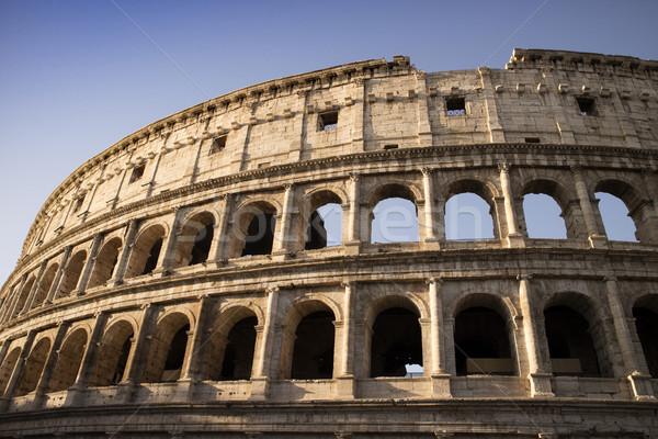 Колизей город каменные Европа играх римской Сток-фото © Fotografiche